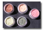 Eye Shadow  5 Color Mix and Match-mineral cosmetics, mineral makeup,mineral eye shadow,mineral foundation,mineral blush, bronzers, eye shadows,loose eye shadow,crush mineral,pure color,bare minerals,id